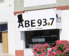 """<div class=""""source""""> kaylan anderson</div><div class=""""image-desc"""">The new sign for ABE 93.7 was installed on the square in downtown Hodgenville last week. The AM station is currently on air and the FM station is expected to be on air sometime in the middle of June.</div><div class=""""buy-pic""""><a href=""""/photo_select/59066"""">Buy this photo</a></div>"""
