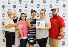 "<div class=""source""></div><div class=""image-desc""> Arrowhead BBQ took 2nd Place in the Best Barbecue division. Pictured with Mrs. Henry is Louie Payne, Memphis McLain, Melissa Payne, Ashley McLain, and Charles McLain.</div><div class=""buy-pic""><a href=""/photo_select/65064"">Buy this photo</a></div>"