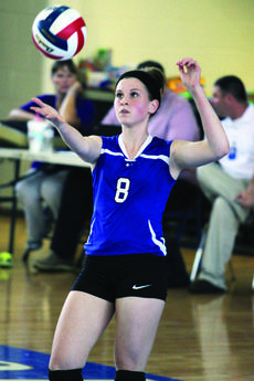"""<div class=""""source"""">Terry Sandidge</div><div class=""""image-desc"""">Lady Hawk Cidney Neagle, a sophomore, broke the school record of 17 aces in District volleyball action last week against Caverna. The previous record was 14 set by Molly Kennedy in 2010.</div><div class=""""buy-pic""""><a href=""""/photo_select/36912"""">Buy this photo</a></div>"""