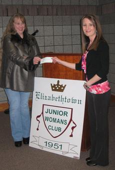 """<div class=""""source""""></div><div class=""""image-desc"""">The Elizabethtown Junior Woman's Club donated $500 to Hardin County Pet Protection at their monthly meeting on March 7th.  Pictured is Wendy Johnson with President Leanna Milby.</div><div class=""""buy-pic""""><a href=""""/photo_select/26644"""">Buy this photo</a></div>"""