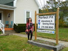 "<div class=""source"">Vanessa Hurst</div><div class=""image-desc"">Rosa Smith owner of Perfect Fit Alterations and Sewing Shop located at 241 South Greensburg Street in Hodgenville. </div><div class=""buy-pic""><a href=""/photo_select/45214"">Buy this photo</a></div>"