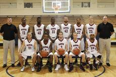 "<div class=""source""></div><div class=""image-desc"">The Barons' Men's Basketball: Front from left, Austin Geer, Antone Miller, Jansen Flood, Cody Crim, Ronald Phillips; back, Assistant Coach Roman Ritchey, Adryan Jackson, Alonzo Myles, Chris McDonald, Aaron Butterworth, Greg Johnson, Andy Read, Coach John Veague; not pictured, Kyle Meredith.         </div><div class=""buy-pic""><a href=""/photo_select/33745"">Buy this photo</a></div>"