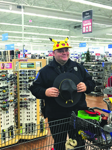 """<div class=""""source""""></div><div class=""""image-desc"""">Sgt. James Richardson donned a Picachu hat during last year's Hanging with Heroes event. </div><div class=""""buy-pic""""><a href=""""/photo_select/55876"""">Buy this photo</a></div>"""