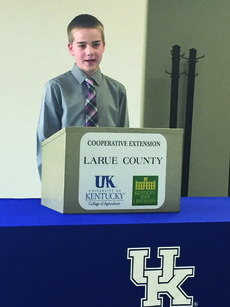"""<div class=""""source"""">Submitted photo</div><div class=""""image-desc"""">Ben Falk was selected as Reserve Champion for his speech on curing country ham in the 11 year old division.</div><div class=""""buy-pic""""><a href=""""/photo_select/59283"""">Buy this photo</a></div>"""