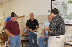 "<div class=""source"">Photo By Zackerie Fairfax</div><div class=""image-desc"">Ronald Dale Nunn, Earl Riggs, LaRue County Jailer Johnny Cottrill, and LaRue County Judge/Executive Tommy Turner await election results on Tuesday, May 22, 2018. </div><div class=""buy-pic""><a href=""/photo_select/59288"">Buy this photo</a></div>"