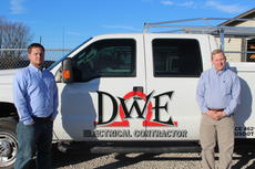"""<div class=""""source"""">Doug Ponder</div><div class=""""image-desc"""">David Whelan Electric is a local business that provides a wide variety of electrical services for their clients including designing, installation, maintenance and troubleshooting of electrical wiring systems. Pictured from left are owners Brandon Gay and David Whelan. </div><div class=""""buy-pic""""><a href=""""/photo_select/45733"""">Buy this photo</a></div>"""