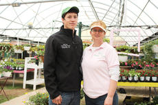 "<div class=""source"">Doug Ponder</div><div class=""image-desc"">Jud Lee and Robin Lee are pictured in one of the greenhouses at Lee's Garden Center in Hodgenville. The business offers a wide variety of items that the sell to their customers, including potted flowers, funeral arrangements, produce, vegetable and other garden plants, garden seeds, soils, mulch and much more.  </div><div class=""buy-pic""><a href=""/photo_select/47262"">Buy this photo</a></div>"