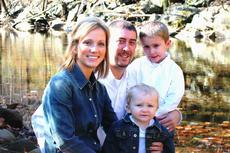 """<div class=""""source"""">Submitted</div><div class=""""image-desc"""">Jeremy Williams with his wife Beth, and two children, Titus and Winston. </div><div class=""""buy-pic""""><a href=""""/photo_select/34206"""">Buy this photo</a></div>"""