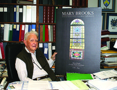 "<div class=""source"">Linda Ireland</div><div class=""image-desc"">James D. LaRue Jr. published his first book at age 93. It was a biography about Mary Brooks, the matriarch of his family.</div><div class=""buy-pic""><a href=""/photo_select/36749"">Buy this photo</a></div>"