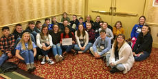 """<div class=""""source""""></div><div class=""""image-desc"""">LaRue County Middle School students attending the Kentucky Youth Assembly December 2-4 in Louisville and Frankfort were named a Premiere Delegation for their accomplishments.</div><div class=""""buy-pic""""><a href=""""/photo_select/61762"""">Buy this photo</a></div>"""