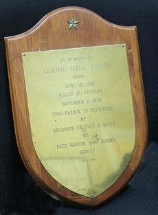 "<div class=""source""></div><div class=""image-desc"">East Hardin High School provided a plaque in honor of Lonnie Fields who was killed in Vietnam.</div><div class=""buy-pic""></div>"