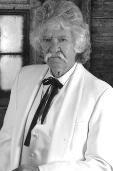 """<div class=""""source""""></div><div class=""""image-desc"""">Curtis O'Dell in character as American humorist Mark Twain.</div><div class=""""buy-pic""""></div>"""