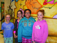 """<div class=""""source"""">Submitted photo</div><div class=""""image-desc"""">Kentucky Children's All-State Chorus participants from ALES are from left, Katelyn Eads, Emmi Cline, Beyonca Embree and Autumn Corbin.</div><div class=""""buy-pic""""><a href=""""/photo_select/32420"""">Buy this photo</a></div>"""