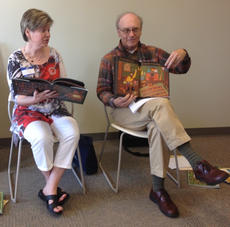 "<div class=""source""></div><div class=""image-desc"">Kathy Milby reads to children while Joe DeSpain shows the pages. These photos are from Prime Time last year at the Taylor County Public Library.</div><div class=""buy-pic""><a href=""/photo_select/40729"">Buy this photo</a></div>"