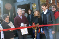 "<div class=""source"">JENNIFER CORBETT GROTE/The Kentucky Standard</div><div class=""image-desc"">Jerry Bruckheimer, Louisville Mayor Greg Fischer and Bloomfield Mayor Rhonda Hagan watch as Linda Bruckheimer cuts a ribbon signifying the grand opening of her business, The Old Sugar Valley Country Store, in Bloomfield Saturday.</div><div class=""buy-pic""><a href=""/photo_select/31692"">Buy this photo</a></div>"