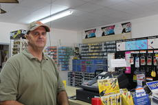 "<div class=""source"">Doug Ponder</div><div class=""image-desc"">Steve Smith is the owner of Smith's Hardware at 1018 Lincoln Farm Road in Hodgenville. The hardware store has been in the Smith family for almost 55 years.</div><div class=""buy-pic""><a href=""/photo_select/43307"">Buy this photo</a></div>"