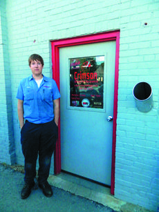 "<div class=""source"">Vanessa Hurst</div><div class=""image-desc"">Justin Lafollette in front of Crimson Diesel located on 102 North Greensburg Street in downtown Hodgenville.</div><div class=""buy-pic""><a href=""/photo_select/43675"">Buy this photo</a></div>"