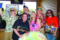 """<div class=""""source"""">Submitted photo</div><div class=""""image-desc"""">The SUADE (Stand Up And Dance, Everyone) will perform Saturday at the Rolling Fork Iron Horse Festival. Band members are Mike Bechel on guitar, keyboard and vocals; Jeff Nutter on drums and percussion; Brian Price on lead guitar and vocals; Alan Hawthorne on bass guitar and vocals; Andrew Lewandowski on lead vocals, guitar and percussion; and Tracy Pendleton – vocals. The song list includesclassic rock, modern rock, country and slow dance tunes. The concert is co-sponsored by The LaRue County Herald News and The Kentucky Standard.  </div><div class=""""buy-pic""""><a href=""""/photo_select/30268"""">Buy this photo</a></div>"""