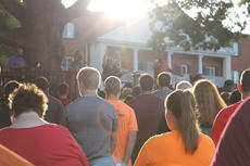 """<div class=""""source""""></div><div class=""""image-desc"""">The sun breaks through the trees while Campbellsville band Incandescence plays on stage.  </div><div class=""""buy-pic""""><a href=""""/photo_select/36892"""">Buy this photo</a></div>"""