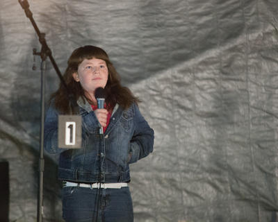 Talent Show, youth, second, Jennifer Newton of New Haven
