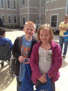 Harley Dever & Jesse Walters (8 & up Prize Egg winners)