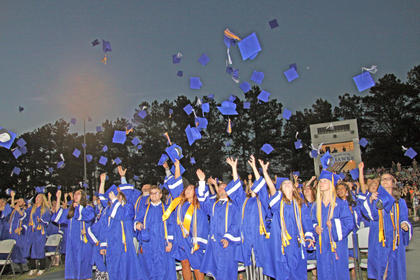 The LaRue County High School Class of 2019 graduated on Friday, May 24.