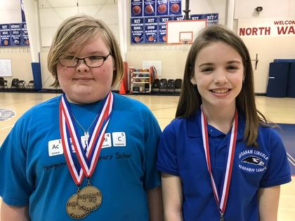 Language arts - Brooklyn Lyvers- 2nd; Brooklynn Skaggs- 4th