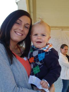 12–18 Month  Jase Barbour Parents – William Barbour and Brittany Cahoe