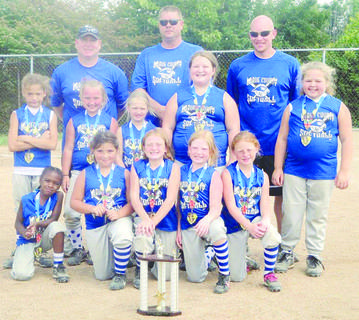 The LaRue County 8U all-star softball team recently placed 2nd in the Jessamine County Recreational Challenge. The tournament took place at Asbury University on July 28 and 29.