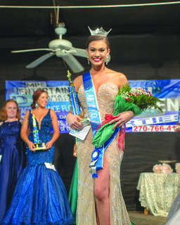 Ally June VanHook of Somerset was crowned Miss LaRue County Fair. Her parents are Perry and Alice Vanhook.