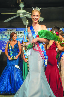 Chloe Childress of Mount Sherman was crowned Miss LaRue County. Her parents are Bonnie and JJ Childress.