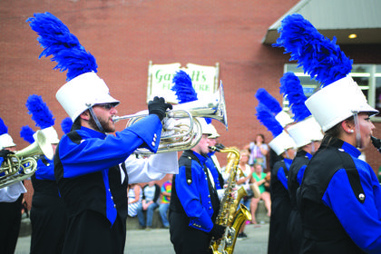 LRHS Marching Band.