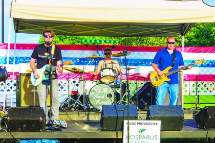 Old Soul Remedy, a classic rock band, provided live music for the event until the fireworks began.
