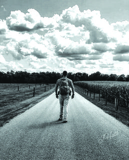 "2nd Place: ""Lonesome Road"" taken by Jon Hall in Buffalo"