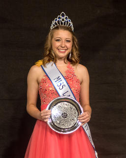 Katelynn Lafollette was crowned Miss LaRue County and Peoples' Choice.
