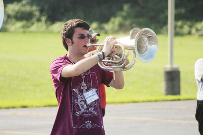Pictured is baritone player Marc Allan Jackson.